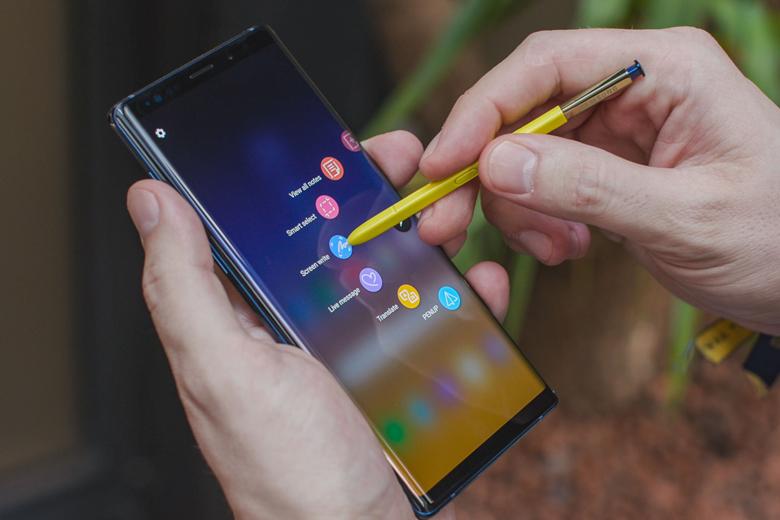 út S-Pen trên Galaxy Note 9 còn được nâng cấp thêm nhiều tính năng