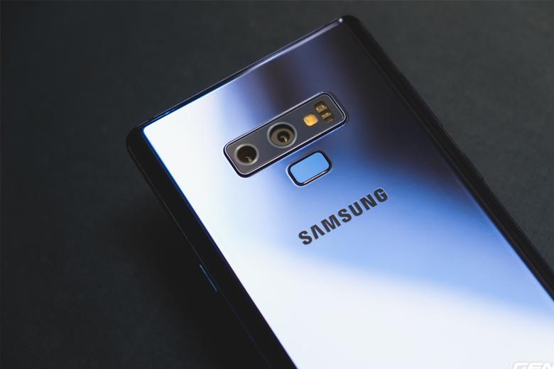 camera Galaxy Note 9 vẫn được trang bị hệ thống camera kép có độ phân giải 12MP