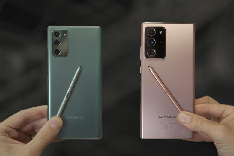Cấu hình Galaxy Note 20 series vượt trội