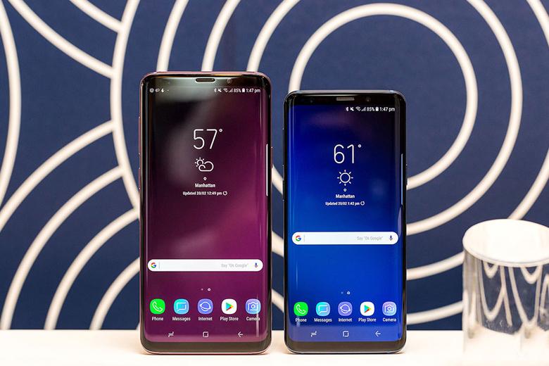 Cấu hình Galaxy S9 và Galaxy S9 Plus mạnh mẽ