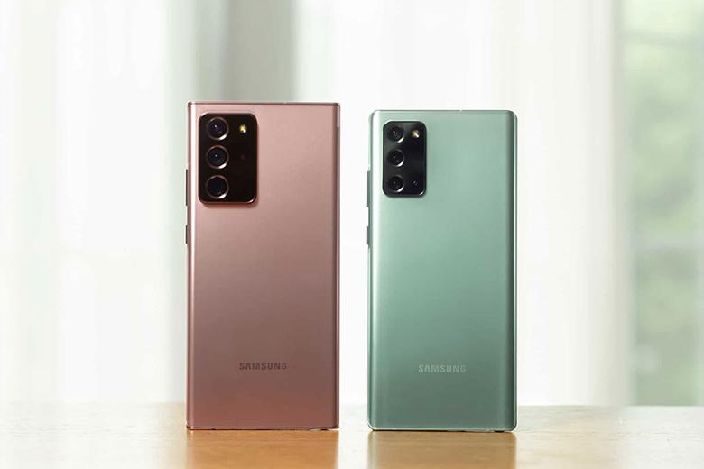 Thiết kế Galaxy Note 20 và Galaxy Note 20 Ultra đẳng cấp và bền bỉ