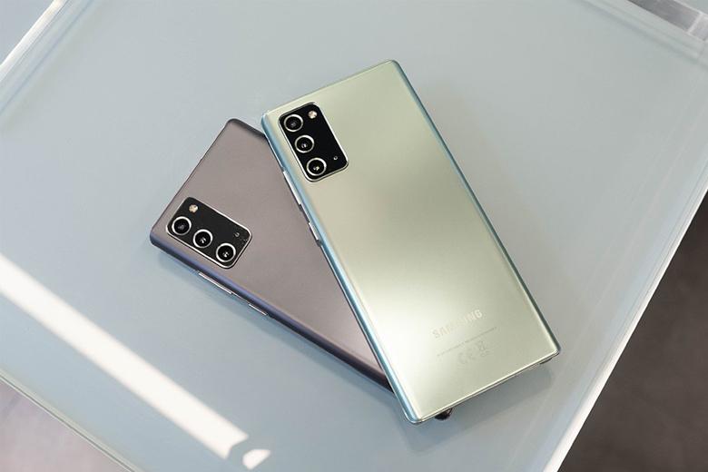 Mua Galaxy Note 20 người dùng sẽ có các tùy chọn màu sắc ấn tượng