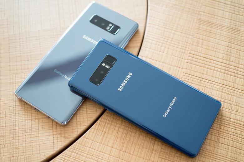 thiết kế Galaxy Note 8 mang đến sự nam tính mạnh mẽ