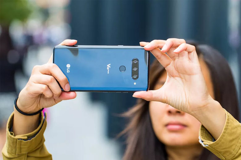 LG V40 ThinQ 128GB cũ 97% chụp ảnh chuyên nghiệp
