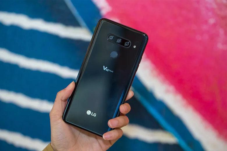 Thiết kế LG V40 ThinQ 128GB cũ 97% sang trọng thu hút