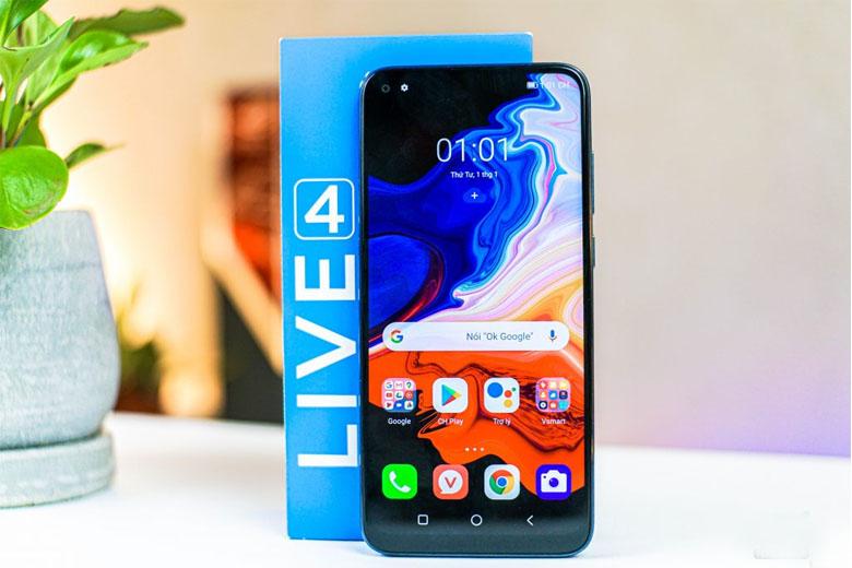 Vsmart Live 4 giá rẻ sở hữu tấm nền IPS LCD cao cấp