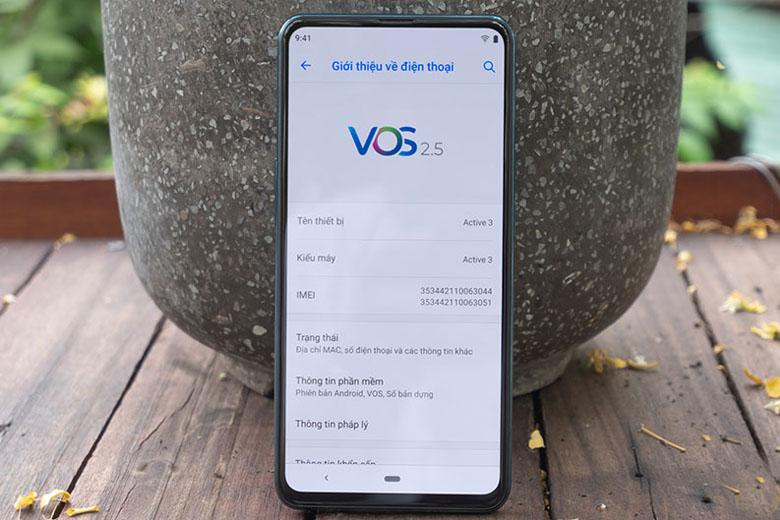 Vsmart Active 3 có thể hoạt động cả ngày dài