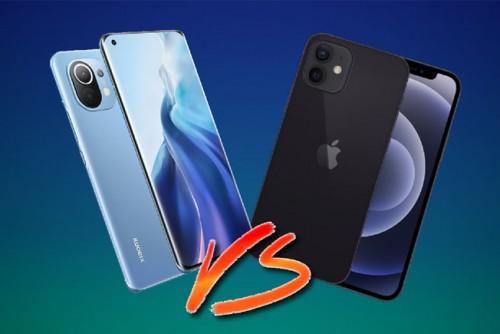 """So sánh Xiaomi Mi 11 và iPhone 12: Smartphone nào đúng """"gu"""" bạn?"""