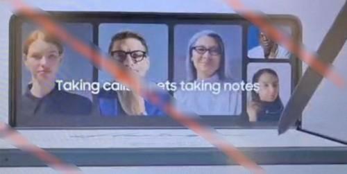 Hình ảnh thực tế Galaxy Z Fold 3 lộ diện: Hỗ trợ bút S-Pen, camera selfie ẩn dưới màn hình
