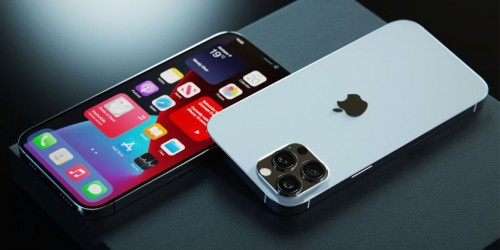 iPhone 13 Pro Max lộ diện với tai thỏ được thu gọn cùng cụm camera chính siêu khủng