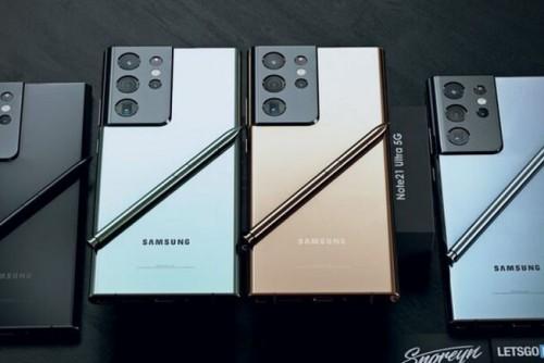 Samsung Galaxy Note 21 sẽ được trình làng vào tháng 9 năm nay, là thật?