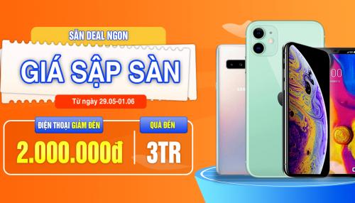 Deal khủng: Mua điện thoại giảm đến 2 triệu, quà tặng trị giá đến 3 triệu