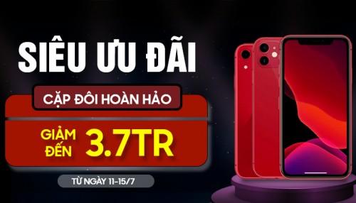 iPhone 11 và iPhone Xr: Cặp đôi hoàn hảo giảm đến 3,7 triệu tại XTsmart