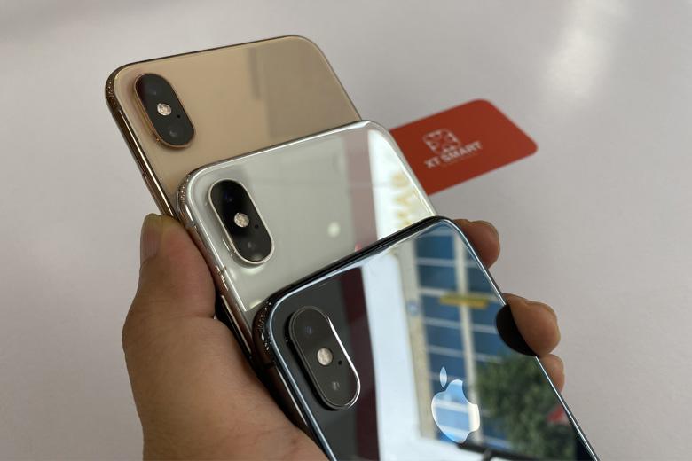 Mặt lưng iPhone Xs Max 512GB cũ được trang bị hệ thống camera kép