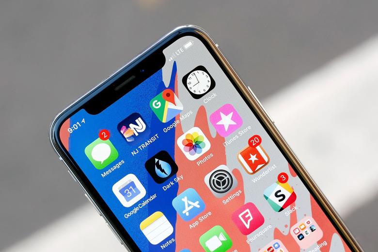 Khung viền iPhone X 97% được bao bọc bởi khung thép không gỉ