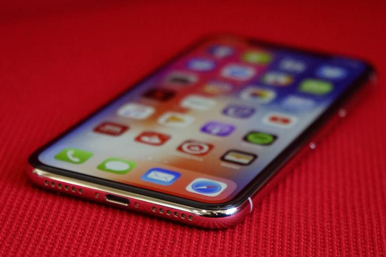 Trên iPhone X 64GB cũ Apple đã loại bỏ nút Home truyền thống