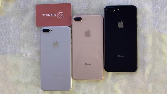 Thiết kế iPhone 8 Plus 64GB cũ khá giống với các biến thể iPhone 7 Plus