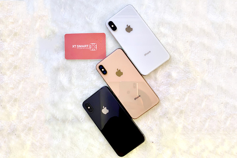 Thiết kế iPhone Xs Max 512GB sang trọng, bóng bẩy