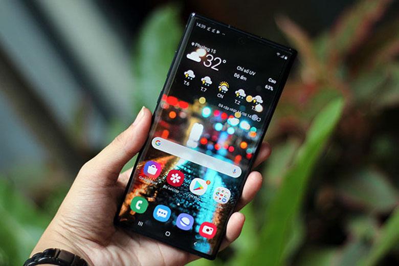 Galaxy Note 10 5G cũ bản Hàn được trang bị bộ chip chip Exynos 9825