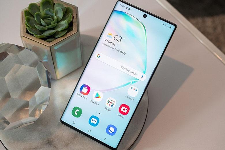 Galaxy Note 10 Plus 5G 256GB cũ bản Hàn giành vị trí đầu bảng về sức mạnh hiệu năng trong phân khúc