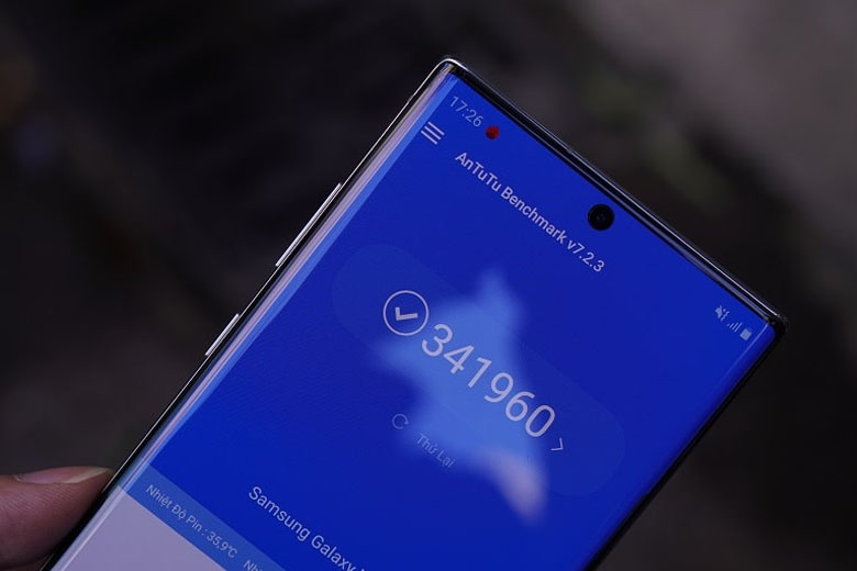 Galaxy Note 10 Plus 5G 256GB cũ Hàn Quốc đồng hành cùng màn hình Dynamic AMOLED