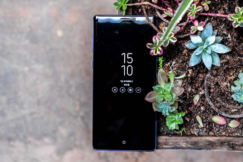 Samsung Galaxy Note 9 128GB cũ Mỹ sở hữu màn hình Super AMOLED có kích thước lên đến 6.4 inch