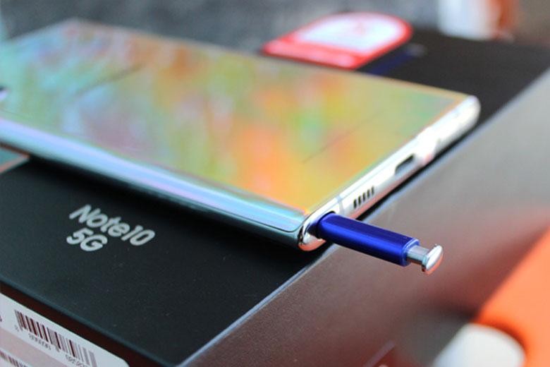 S-Pen trên Galaxy Note 10 5G 256GB cũ Hàn Quốc được hoàn thiện đáng kể