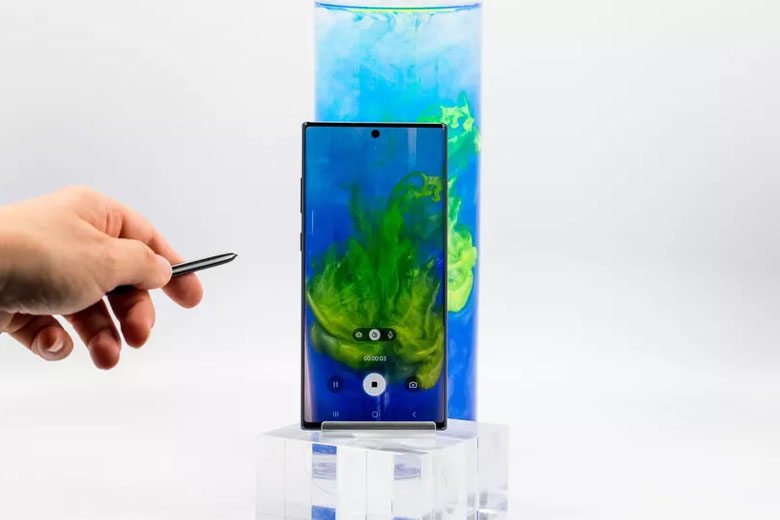 -Pen của Galaxy Note 10 Plus 5G 256GB cũ bản Hàn nay còn được tích hợp Bluetooth