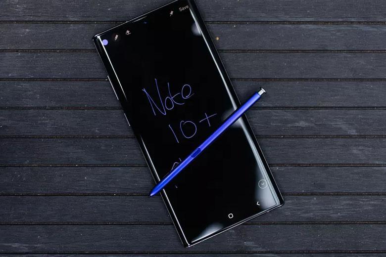 Galaxy Note 10 Plus 256GB New Nobox Mỹ còn tích hợp vân tay siêu âm vào thẳng màn hình