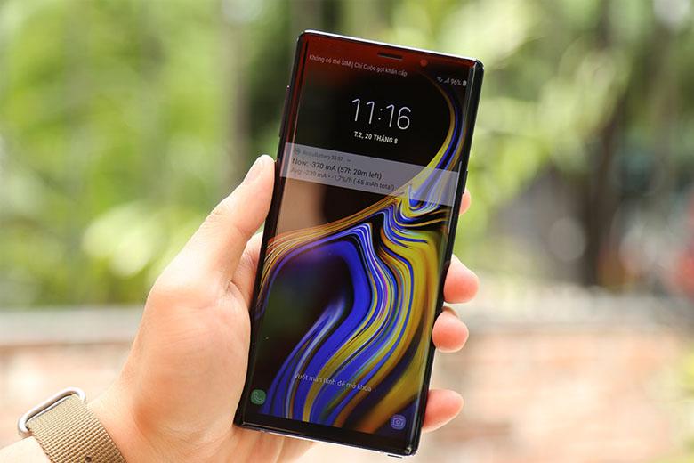 Sở hữu màn hình có kích thước lớn lên đến 6.4 inch, Note 9 cũ 97% mang đến khả năng hiển thị không chỉ rõ nét mà còn sống động như thật.