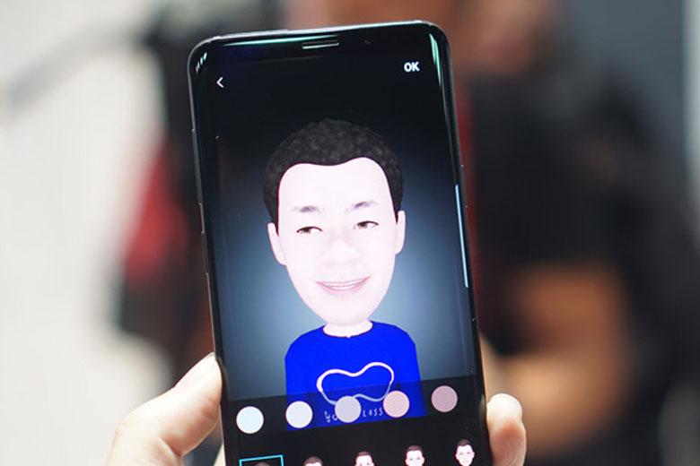 Trên Galaxy S9 Plus, hãng đã trang bị công nghệ 3D Emoji