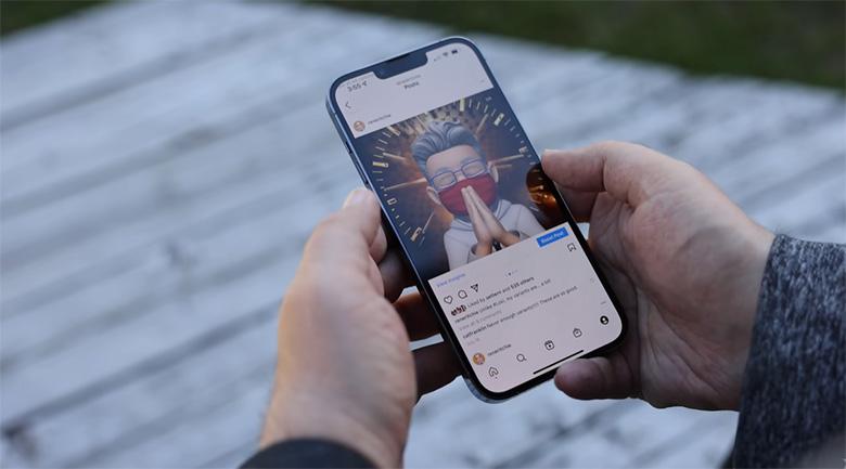 Màn hình iPhone 13 256GB chính hãng tiếp tục sử dụng kích thước 6,1 inch