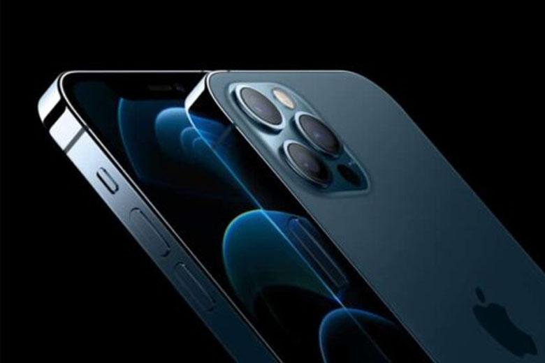 iPhone 12 Pro sở hữu khung viền vát phẳng nam tính, cứng cáp