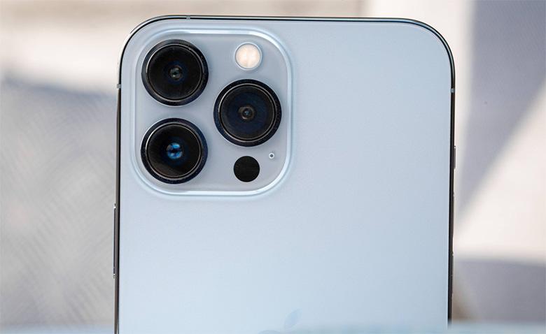 camera iPhone 13 Pro Max 128GB VN/A nhận được sự nâng cấp toàn diện