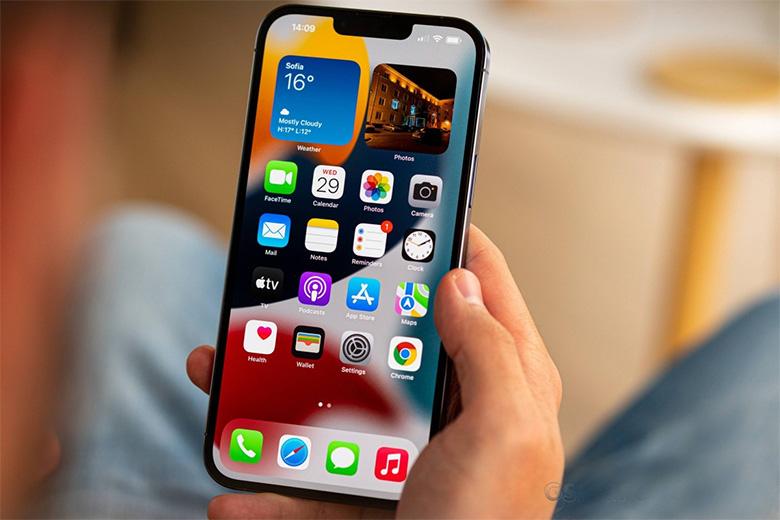 iPhone 13 Pro Max sở hữu màn hình Promotion 120Hz
