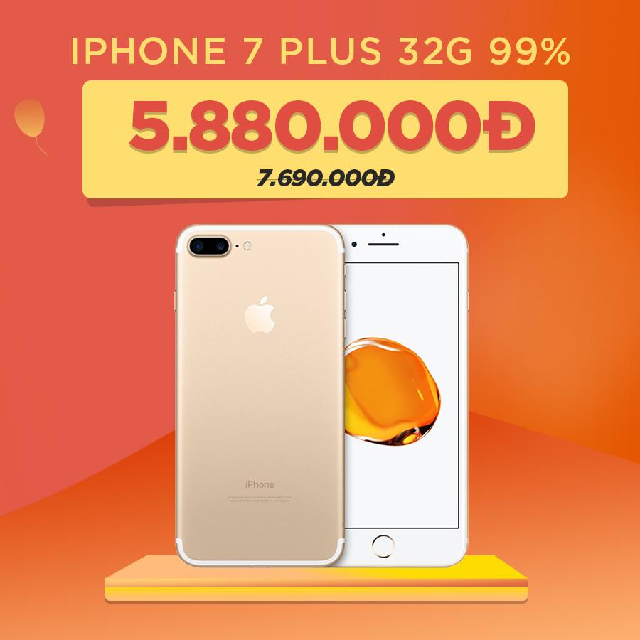 iPhone 7 Plus 32GB cũ giảm thêm 1.8 triệu