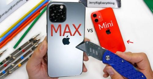 Bộ đôi iPhone 12 mini và 12 Pro Max xuất sắc vượt qua thử thách độ bền khắc nghiệt nhất