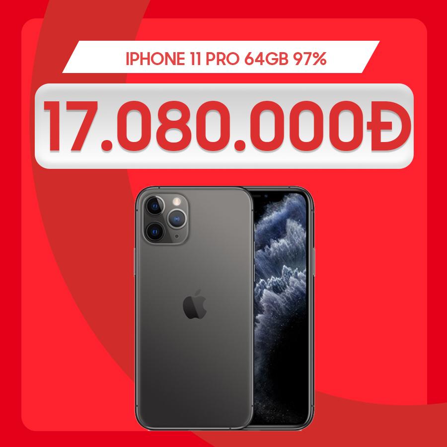 iPhone 11 Pro 97% giá chỉ từ 17 triệu