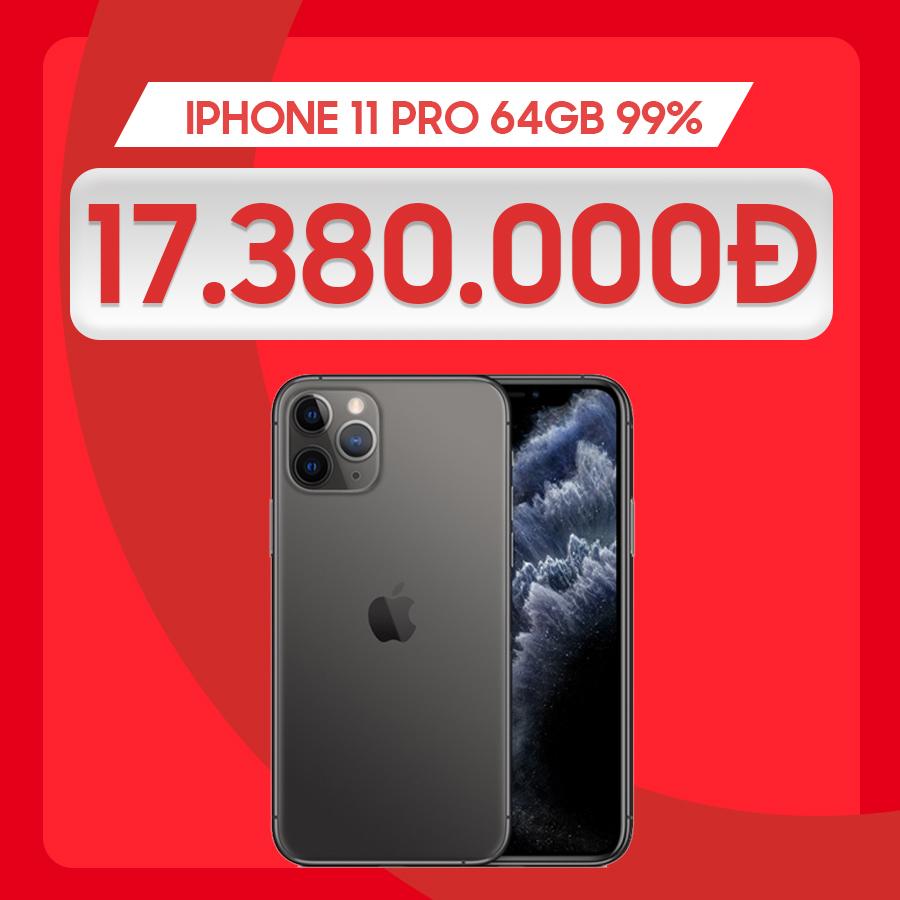 iPhone 11 Pro giá chỉ từ 17.3 triệu