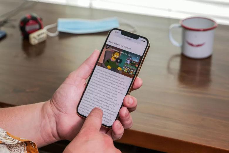 Táo khuyết sử dụng con chip Apple A14 SoC 5nm cho iPhone 12 Pro Max 128GB (VN/A)