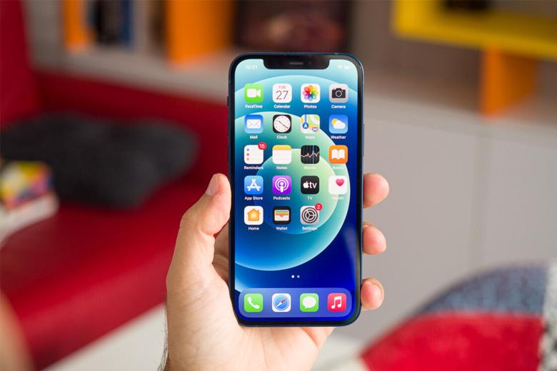 màn hình iPhone 12 mini vẫn được sử dụng tấm nền OLED