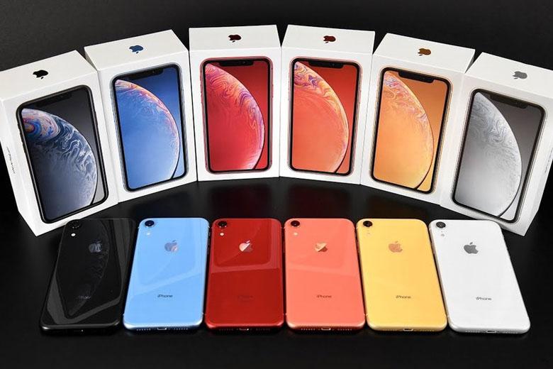 iPhone Xr của Apple mang tới nhiều phiên bản màu sắc cho người dùng nhiều sự lựa chọn hơn