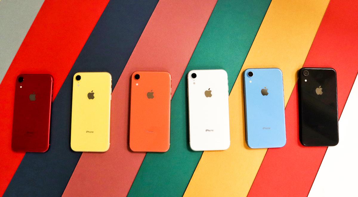 iPhone XR có bao nhiêu tùy chọn màu sắc?