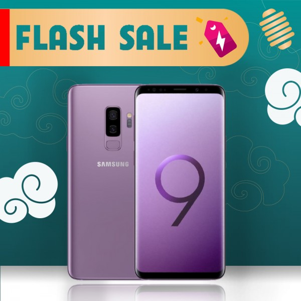 SAMSUNG GALAXY S9 PLUS 128GB LIKE NEW (CTY)