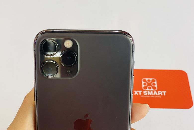 Camera iPhone 11 Pro 256GB cũ được trang bị hệ thống 3 ống kính