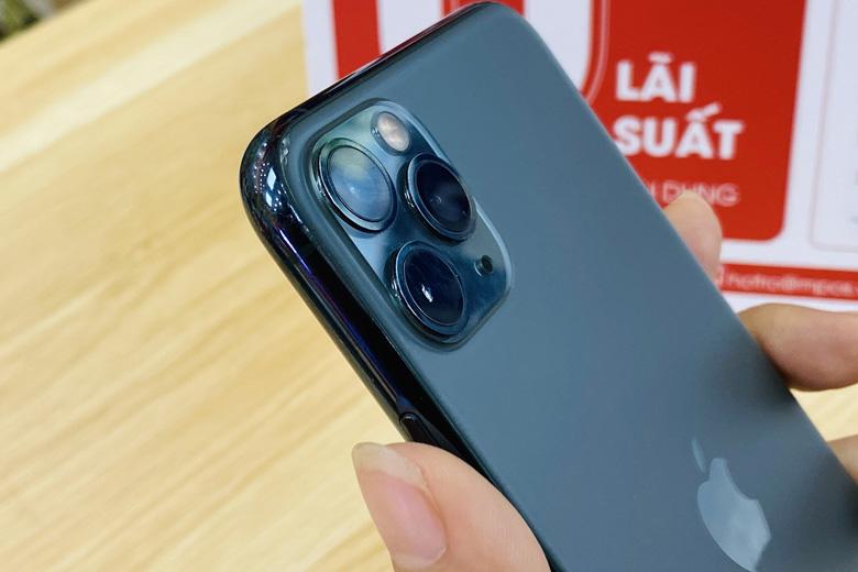 camera iPhone 11 Pro Max 64GB Quốc tế cũng được trang bị 3 ống kính