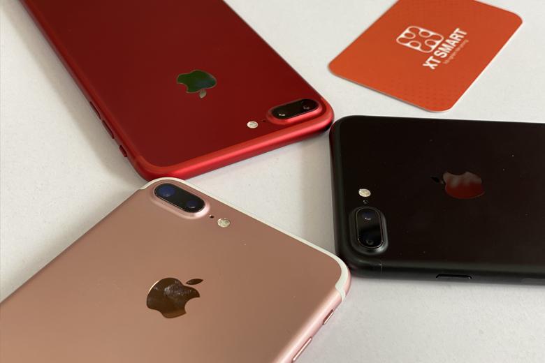 Camera iPhone 7 Plus 256GB được trang bị 2 ống kính
