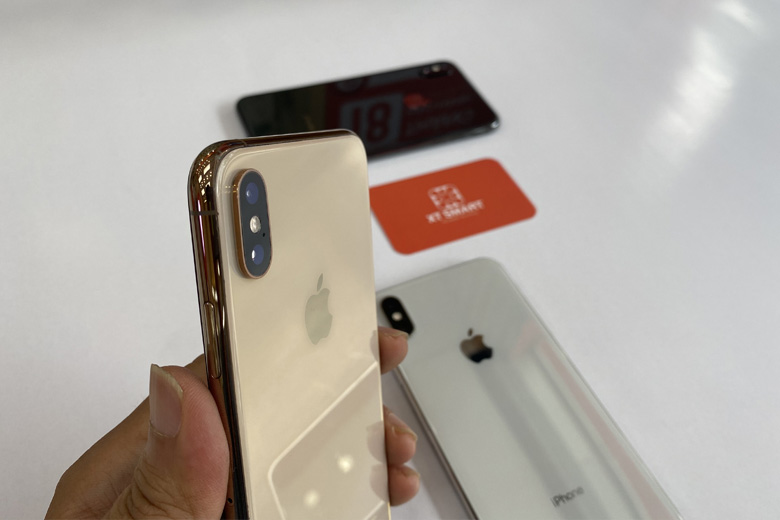 Camera iPhone Xs Max 64GB cũ vẫn được tích hợp 2 ống kính