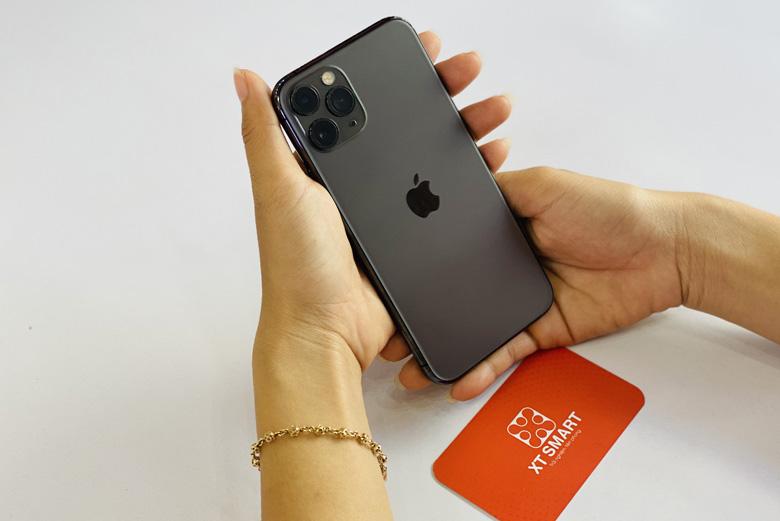 Thiết kế iPhone 11 Pro 256GB nhỏ gọn, sang trọng