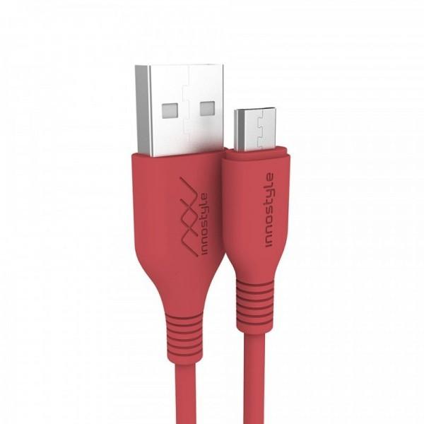 CÁP INNOSTYLE JAZZY USB-A TO MICRO 1.2M BLACK